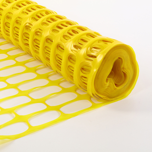 Removable Yellow Snow Safety Fence