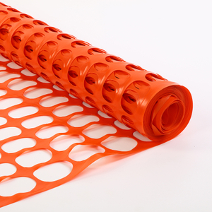 Rigid Orange Snow Safety Fence