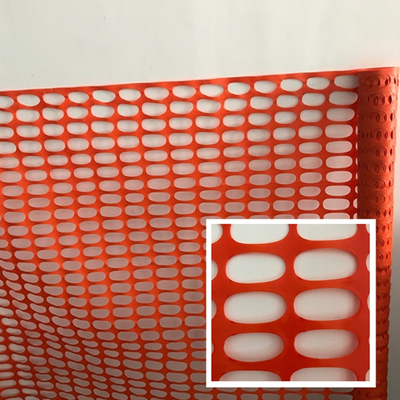 Foldable Orange Highway Plastic Barrier Mesh