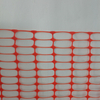 construction equipment orange temporary plastic safety mesh barrier fence
