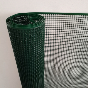Rustproof Green Construction 1 M Plastic Square Mesh