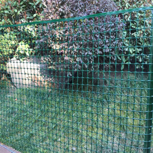 Weatherproof Green Trees Garden Fence