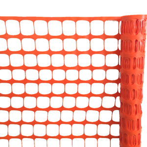 Versatile Orange Outdoor Safety Fence