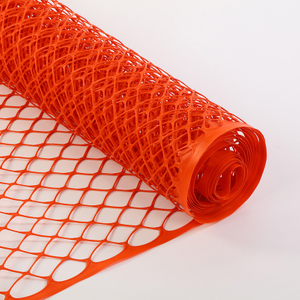 Expandable orange Snow Safety Fence